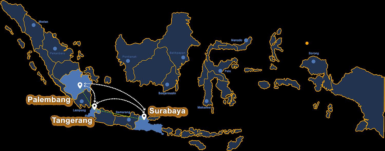 Paskomnas Peta Pasar Induk